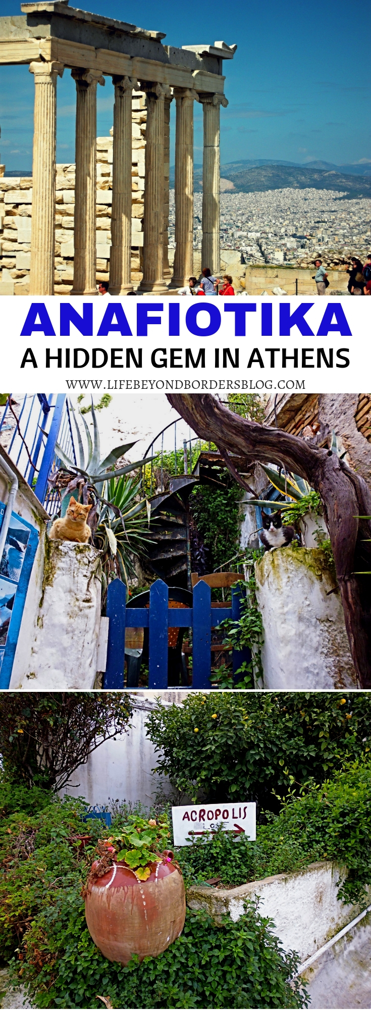 Finding Anafiotika - A Hidden Gem in Athens Greece