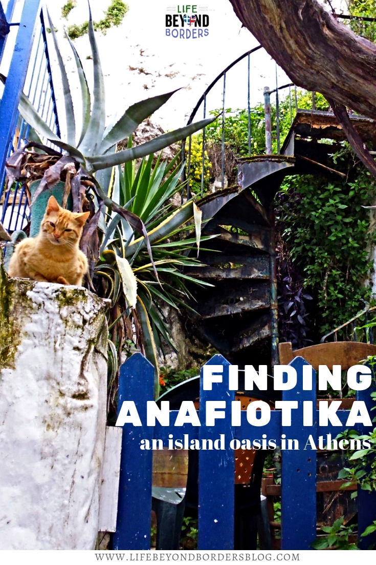 Finding Anafiotika - an island oasis in Athens, Greece