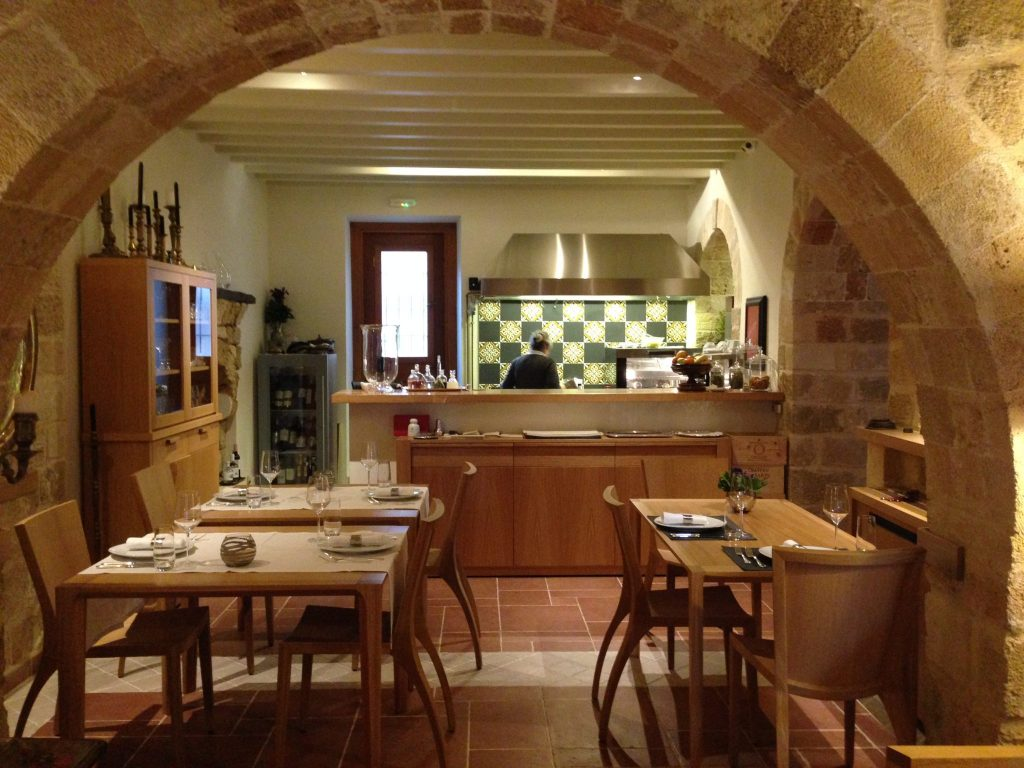 Dining are - with open plan kitchen - making for a homely experience