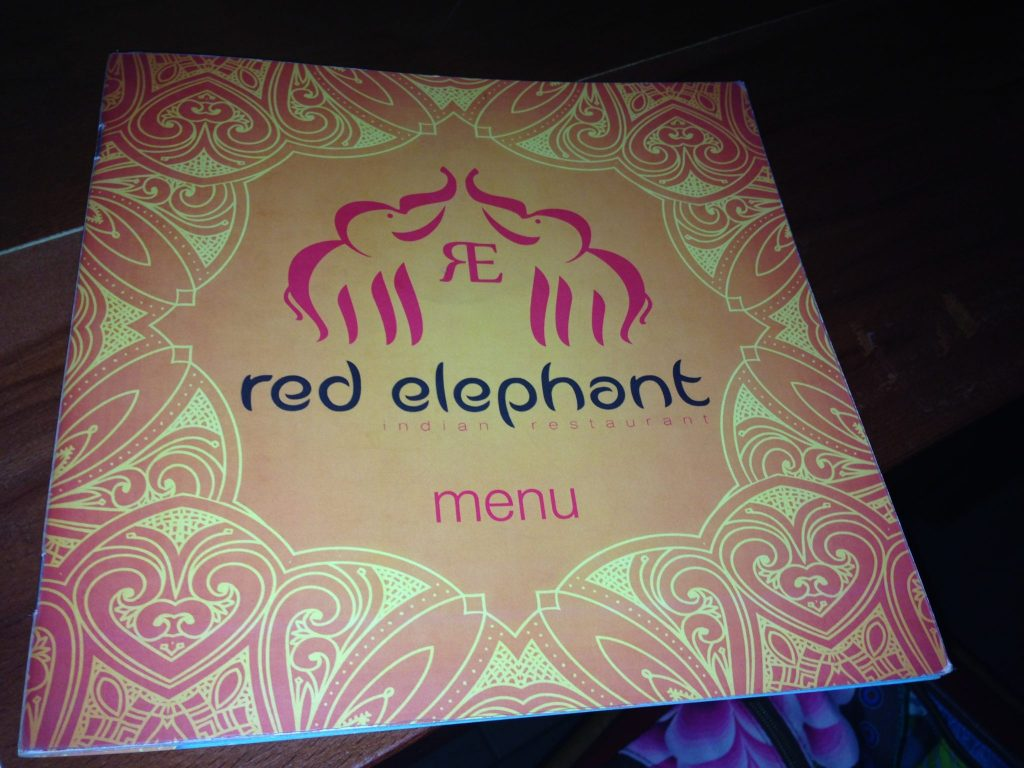 Red Elephant Indian Restaurant Menu