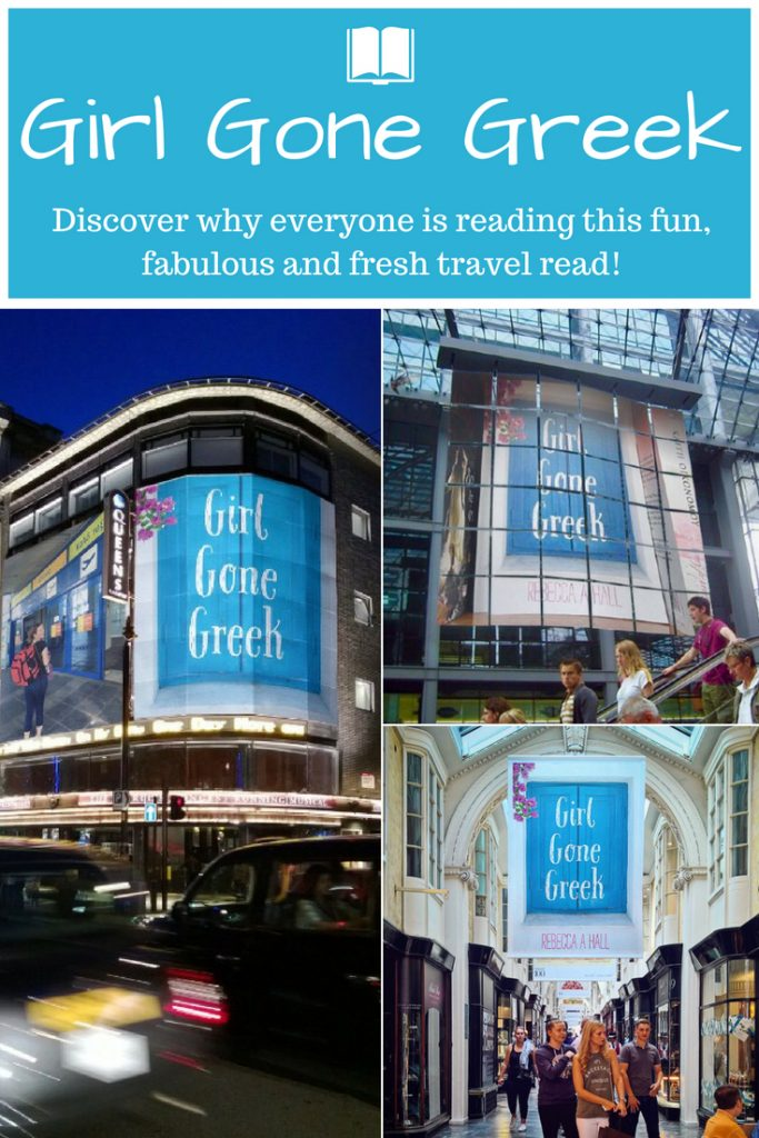 Girl Gone Greek - discover why everyone's reading this fresh, fun travel read