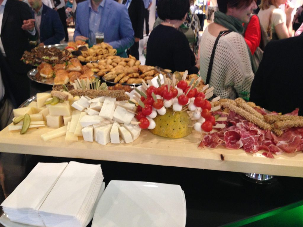 Delicious buffet food on offer at Heineken Star Bar - Athens International Airport