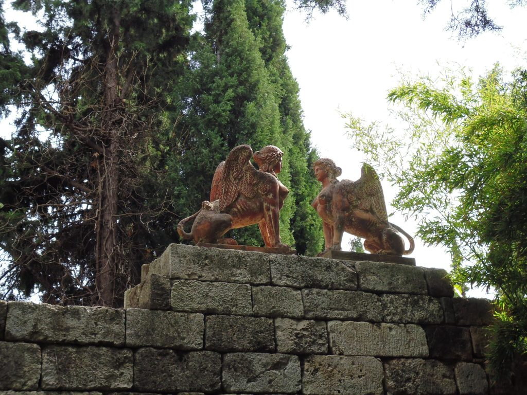 Statues in the gardens of the Vorres Museum - Athens - Greece - LifeBeyondBorders