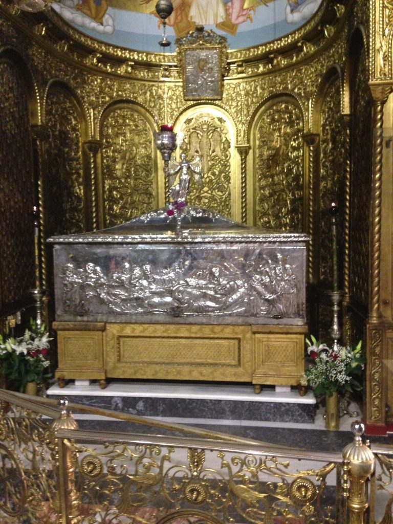 The tomb of St. Dennis - opened up on 24AUG every year