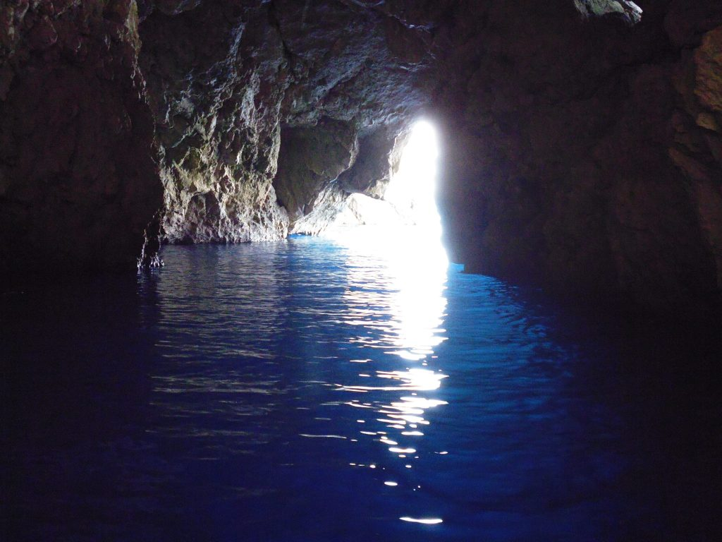 Deep in the Keri Caves - Zakynthos