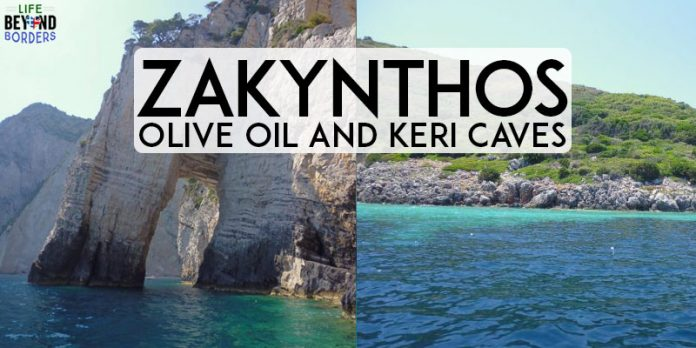 Visit the Keri Caves in Zakynthos Greece and learn about olive oil