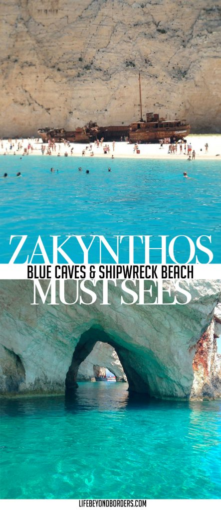 Things to see in Zakynthos, Greece. Blue Caves & Shipwreck Beach