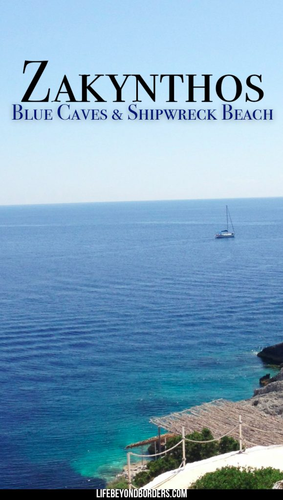 Things to see in Zakynthos - Blue Caves & Shipwreck Beach