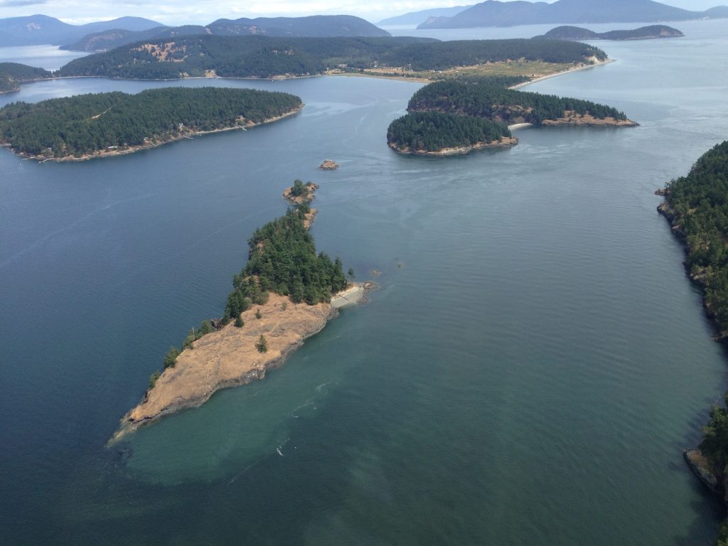 San Juan Islands from Kenmore Air floatplane