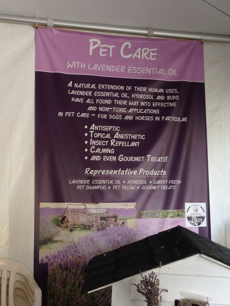 One of the many products on offer to buy at Pelindaba Lavender Farm