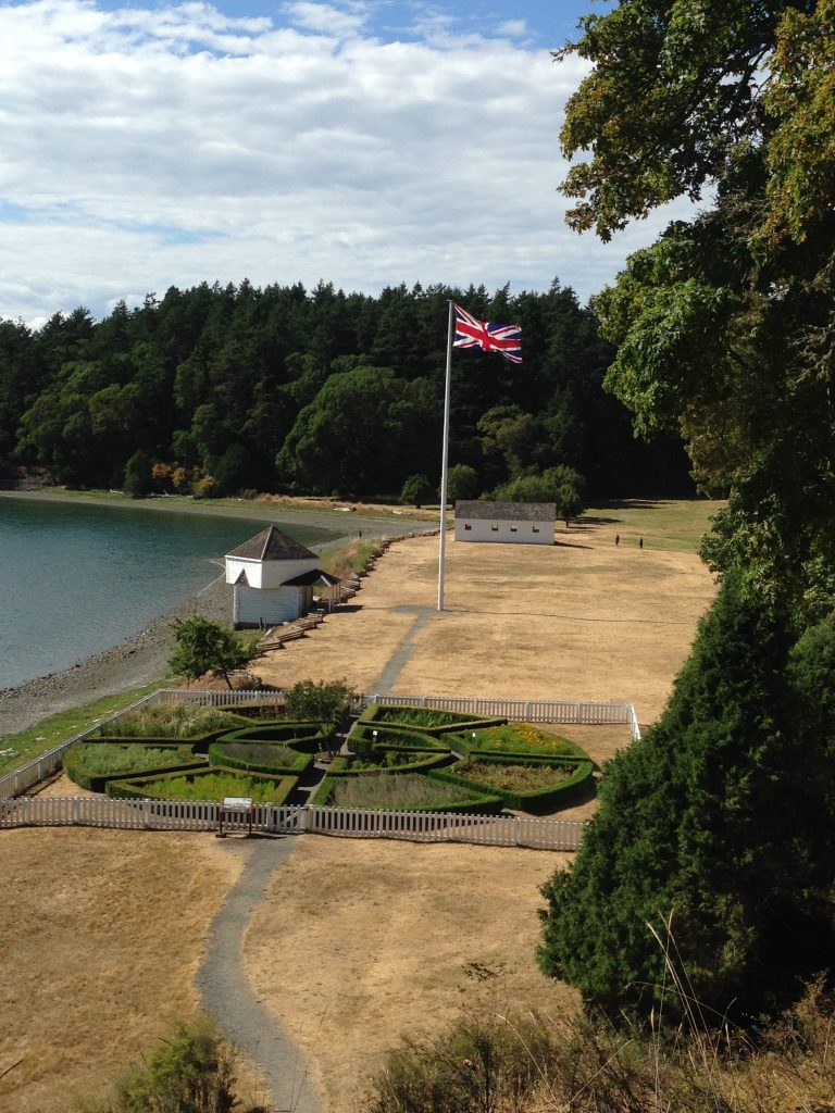 English Camp, Garrison Bay, San Juan Island