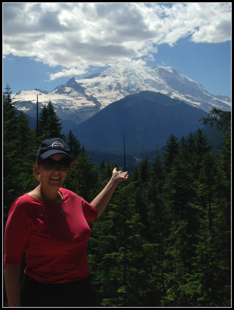 Mount Rainier NP near Seattle, Washington, U.S. also has lush green forest - LifeBeyondBorders