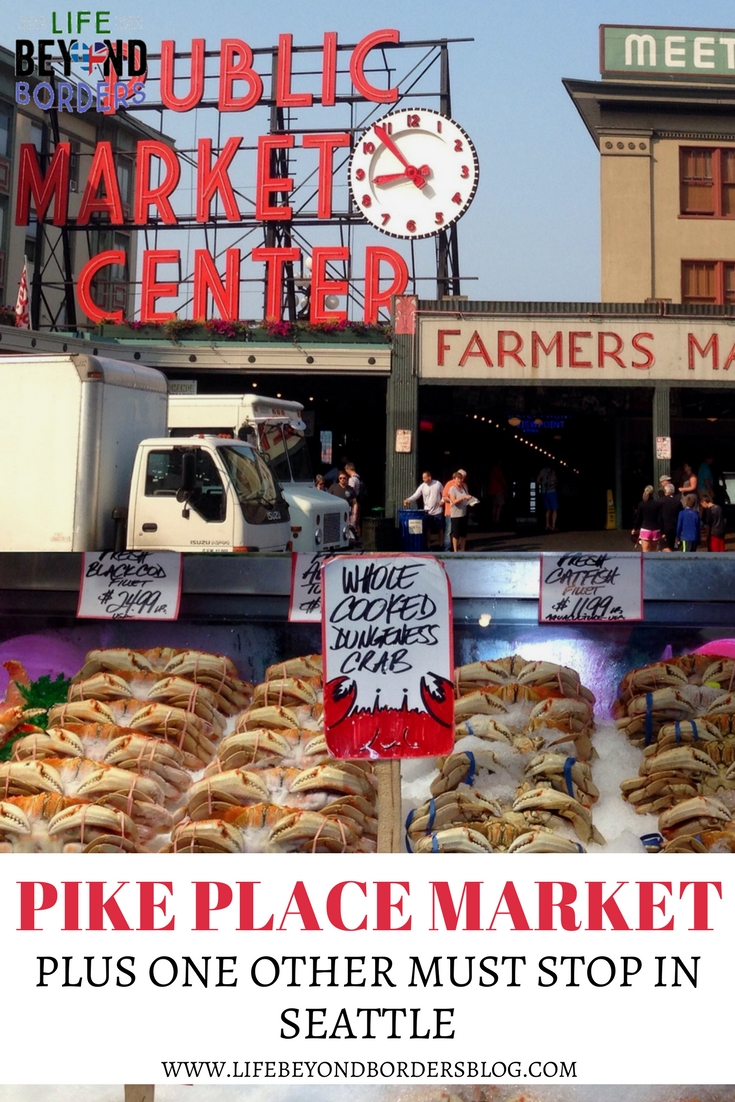 Pike Place Market plus one other must stop in Seattle, USA.