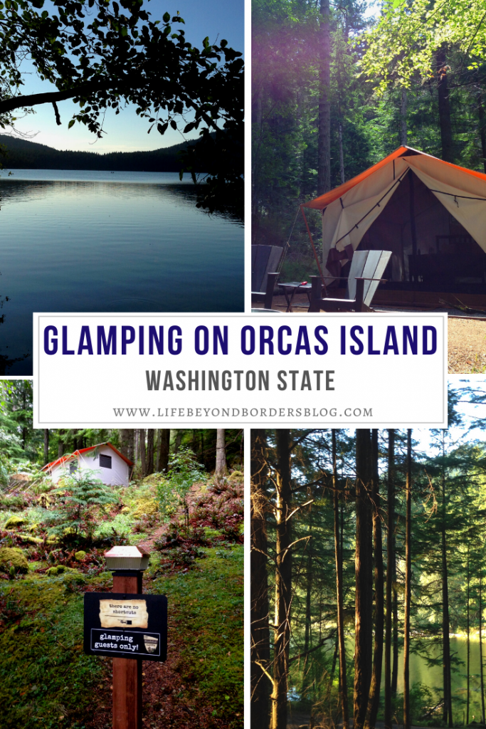 Best Glamping in the San Juan Islands - Leanto Campsite - Orcas Island - LifeBeyondBorders
