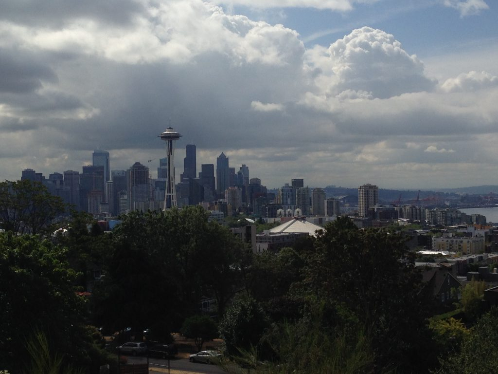 Fabulous city skyline from Kerry Park