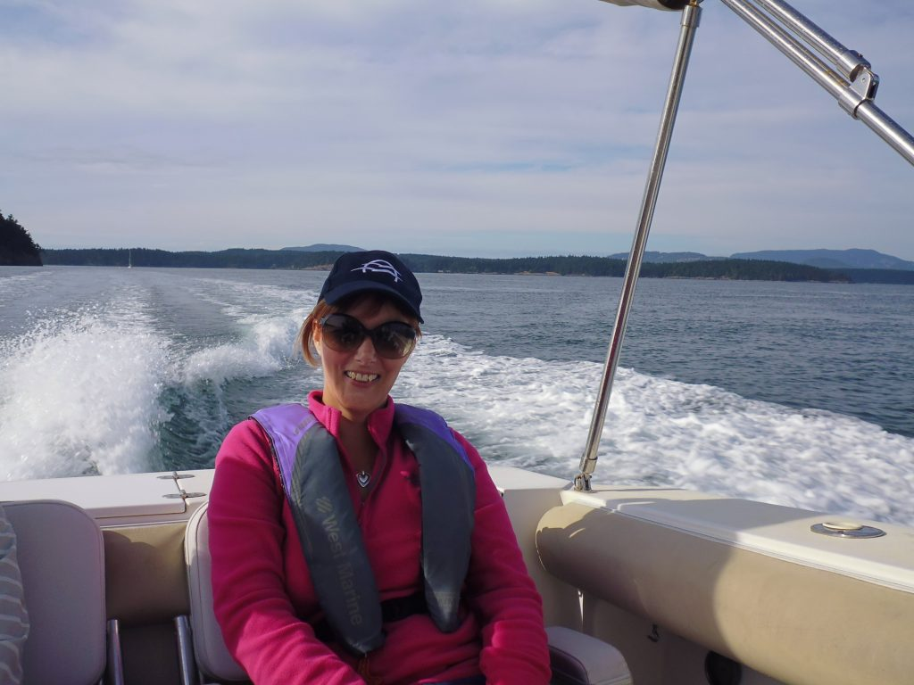 Excited to be going whale watching with San Juan Island Whale and Wildlife Tour