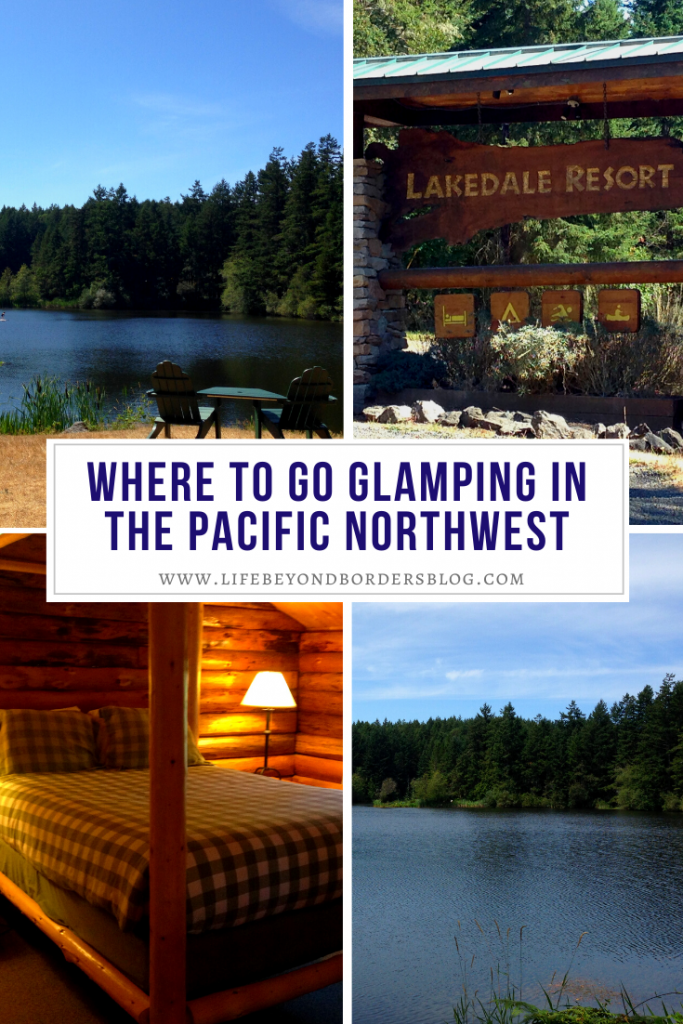 Where to go glamping in the Pacific Northwest - LakeDale Resort - San Juan Island - LifeBeyondBorders