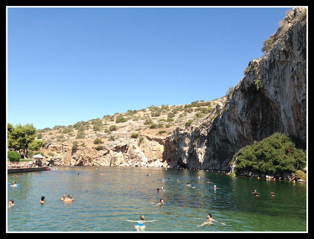 Swimming around Vouliagmenis Lake along the #Athens Riviera - #Greece - LifeBeyondBorders