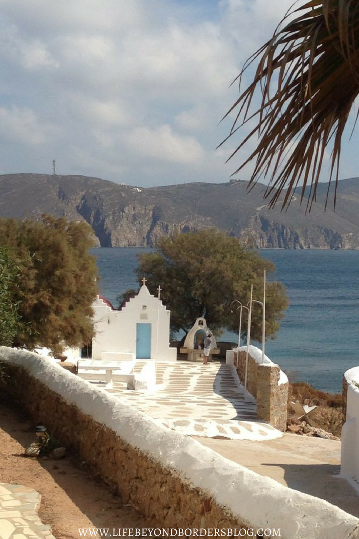 Agios Sostis Beach and Church - Alternative Mykonos - Greece - LifeBeyondBorders
