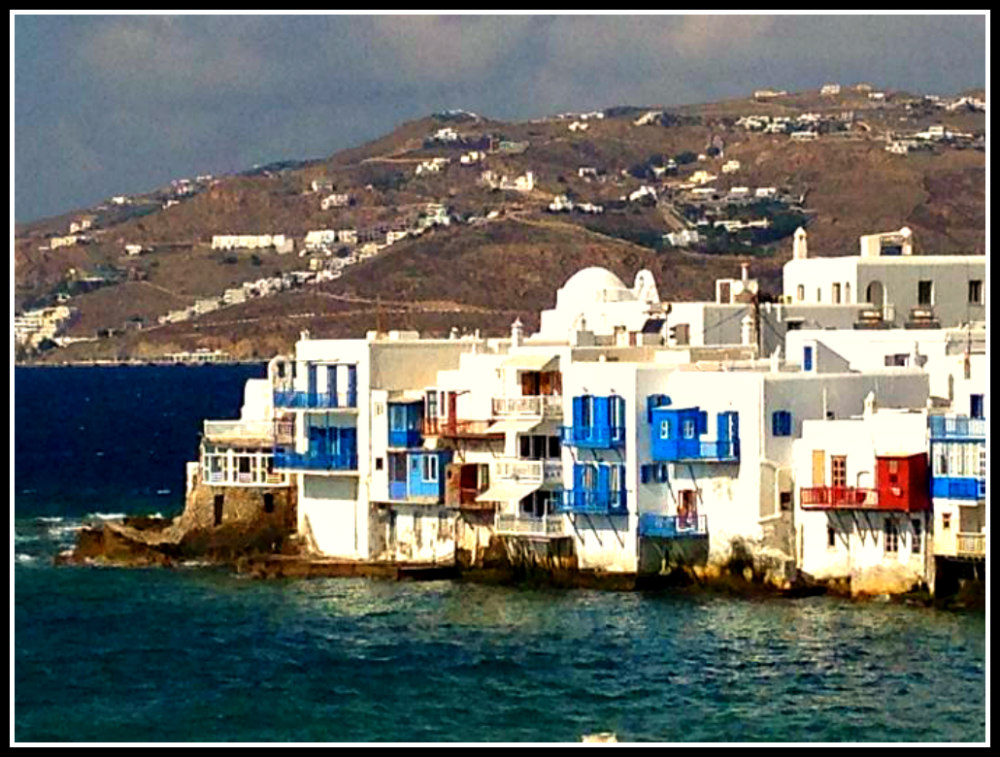 Little Venice in Mykonos - Mykonos off season - Greece - LifeBeyondBorders