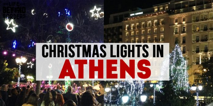 Christmas Lights in Athens - Greece
