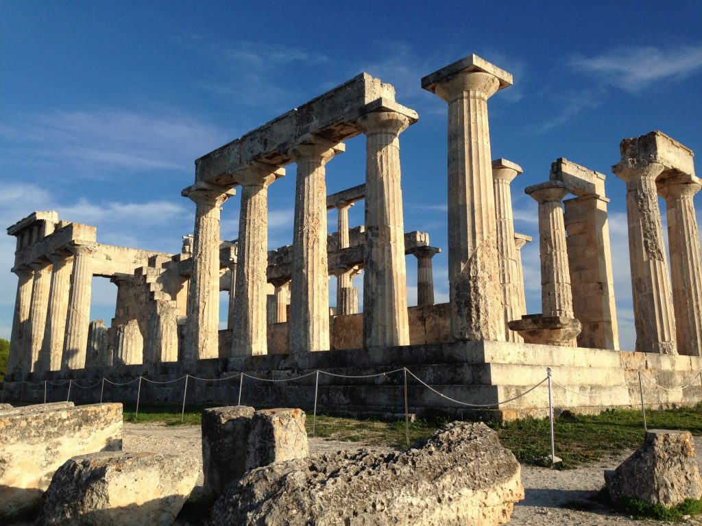Temple of Aphaea - part of Olympic Cruises's Aegina tour