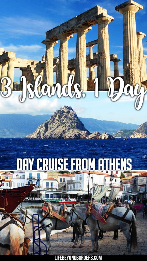 Three Greek Islands - one day cruise