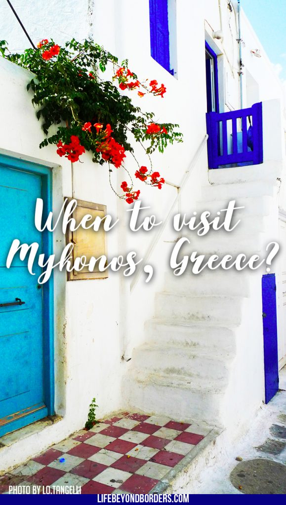"Mykonos - the best time of year to visit. alt='Mykonos by lo.tangelini, on Flickr' title='Mykonos by lo.tangelini, on Flickr' border='0'/></a><br/>""<a href='https://www.flickr.com/photos/ltangelini/3935640448/' target='_blank'>Mykonos</a>"" (<a rel='license' href='https://creativecommons.org/licenses/by-sa/2.0/' target='_blank'>CC BY-SA 2.0</a>) by <a xmlns:cc='http://creativecommons.org/ns#' rel='cc:attributionURL' property='cc:attributionName' href='https://www.flickr.com/people/ltangelini/' target='_blank'>lo.tangelini</a></div>"