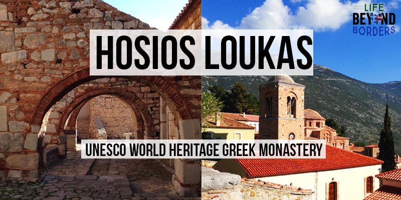 Hosios Loukas Monastery - Central Greece