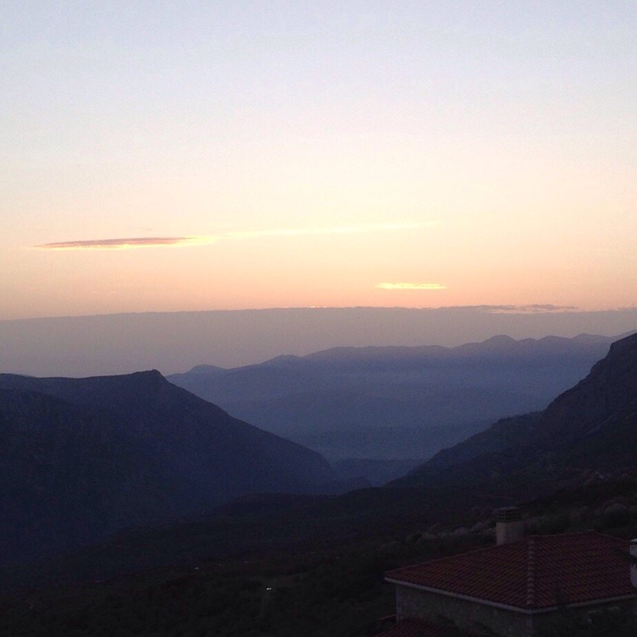 The view from Elafivolia Suites and Apartments - Arachova
