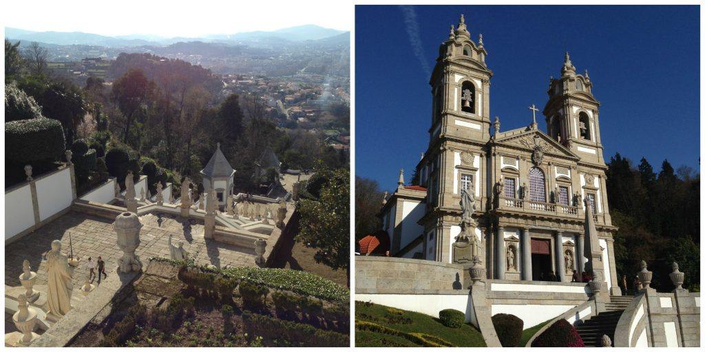 Bom Jesus do Monte Collage- Minho Region of Portugal. Life Beyond Borders