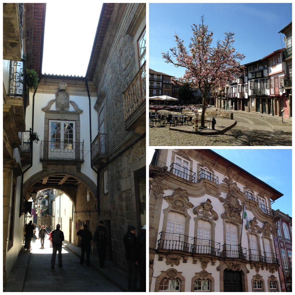 Town of Guimaraes in the Minho region of Portugal. Life Beyond Borders