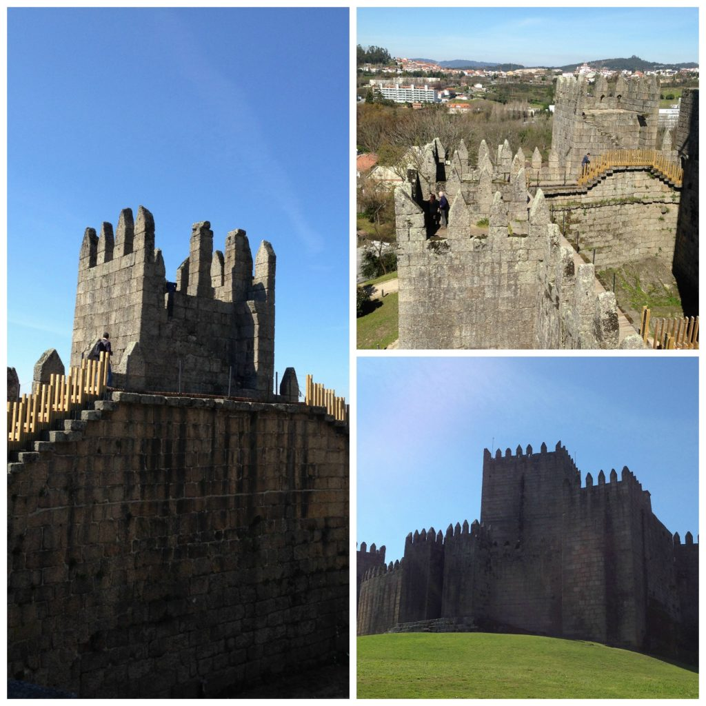 The castle at Guimaraes - Minho region of Portugal. Life Beyond Borders