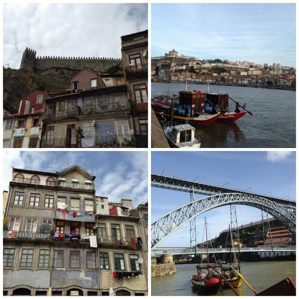 Ribeira district of Porto - plus Rio Douro views as you sip coffee