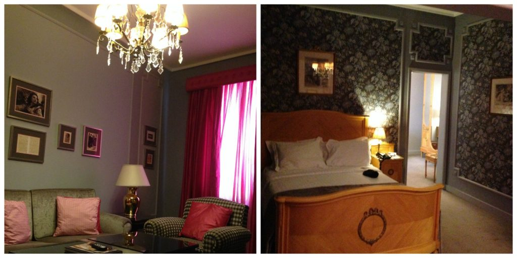 Suite at the Grande Hotel do Porto - where to stay in Porto