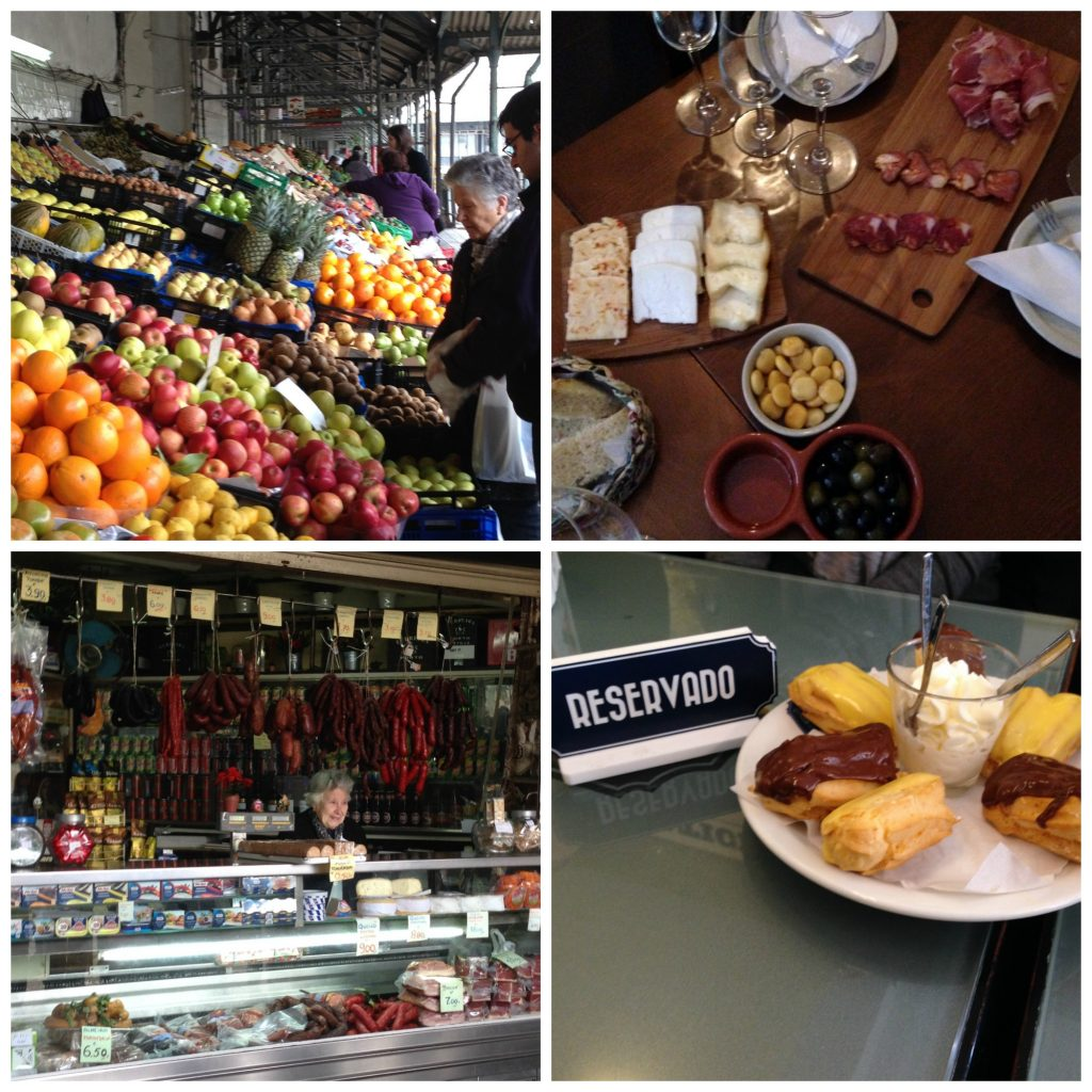 Produce at Bolhao Market, meat and cheese tapas and delicious pastries await you at Taste Porto Food Tour
