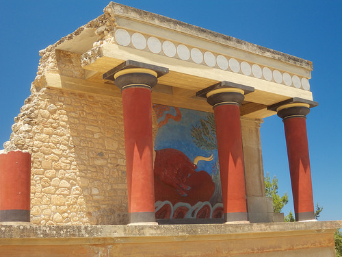 palace of knossos photo - Crete. Life Beyond Borders