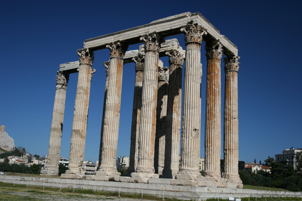 Temple of Olympian Zeus photo. Life Beyond Borders