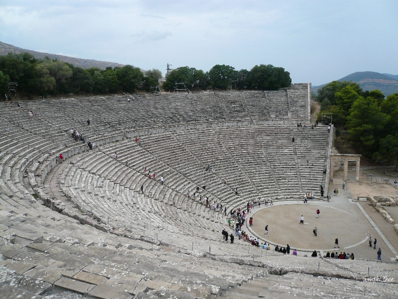 Ancient Theatre of Epidaurus photo. Life Beyond Borders