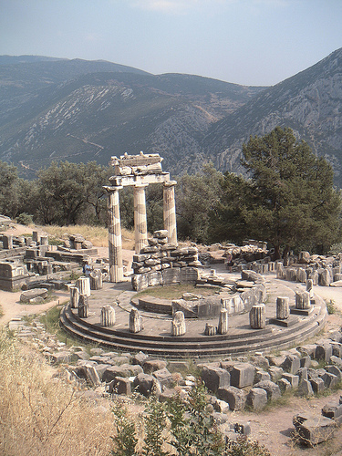 oracle of delphi photo. Life  Beyond Borders