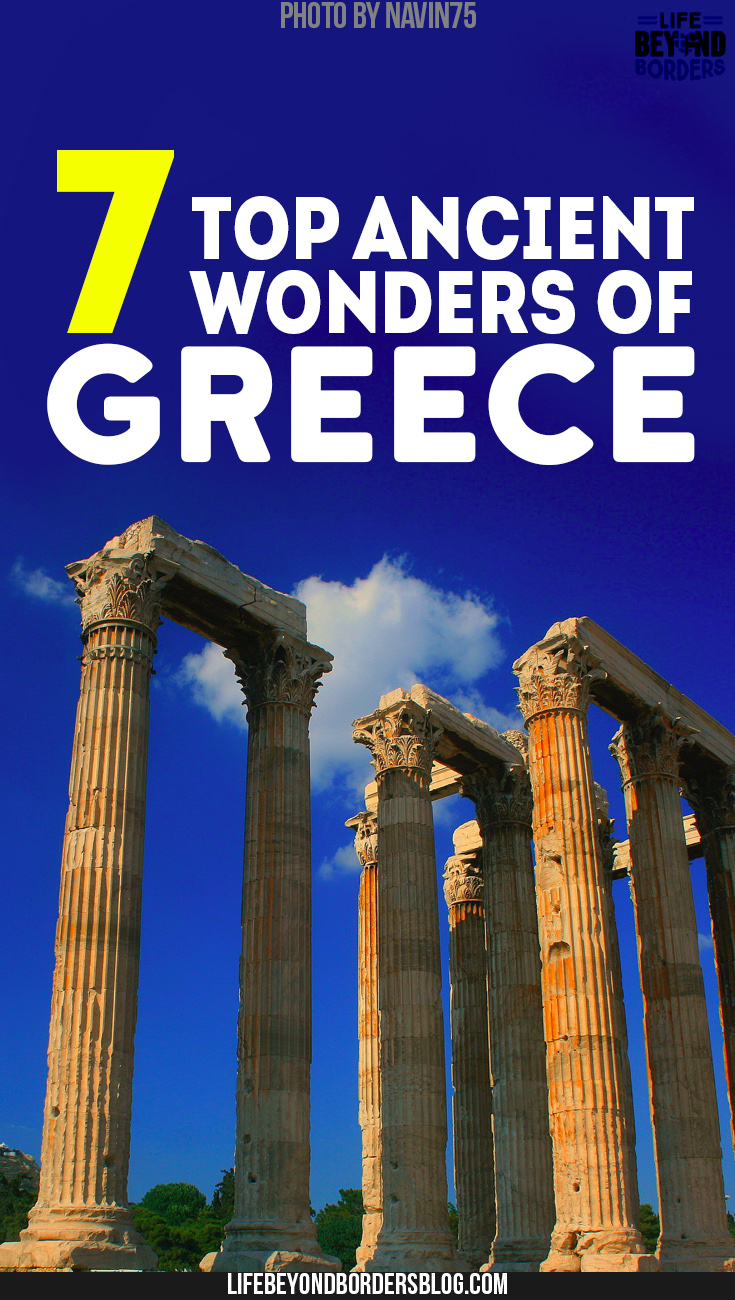 Seven ancient wonders of Greece