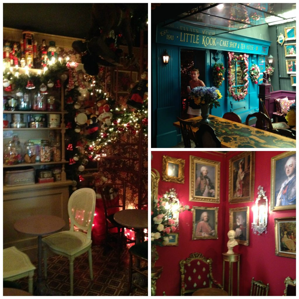 Different themed rooms to eat in Little Kook Themed Cafe