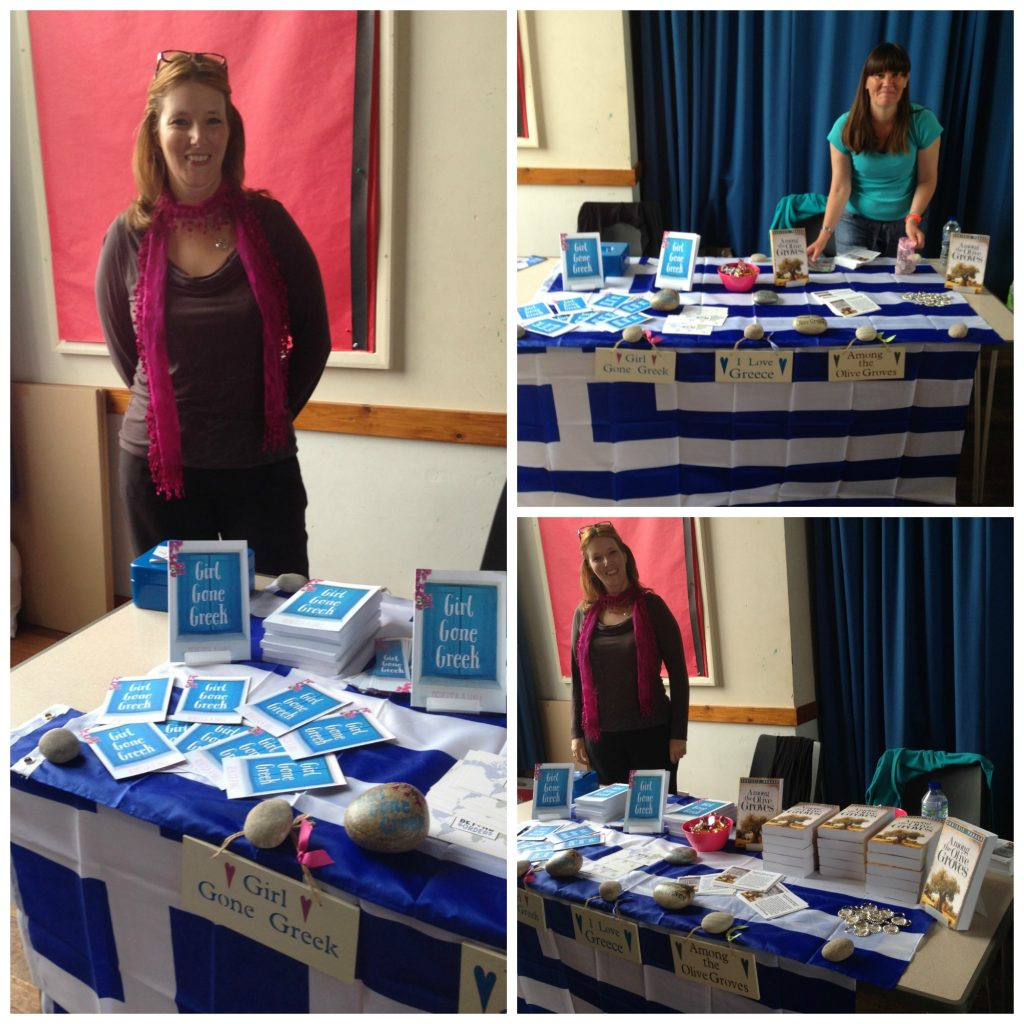 Promoting Greece with Chrissie Parker - Author at St George's Church Hall - Tiverton Literary Festival