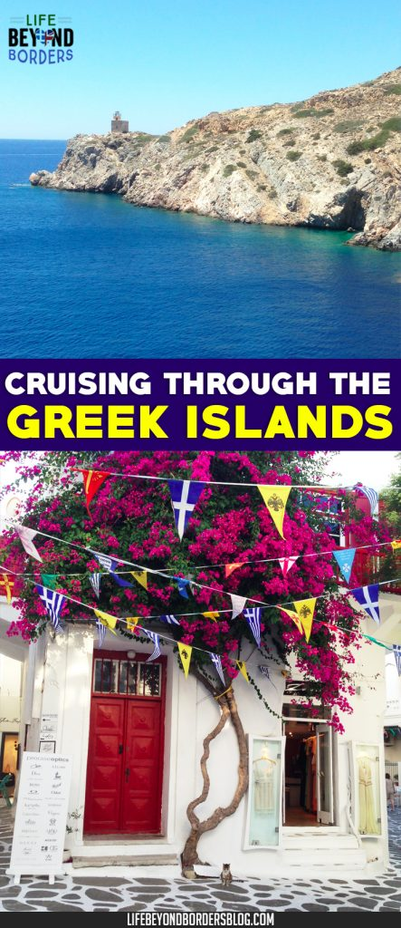 Cruising around the Greek Islands with Celestyal Cruises and LifeBeyondBorders