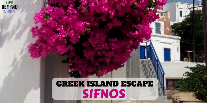 Sifnos Greek island escape - LifeBeyondBorders