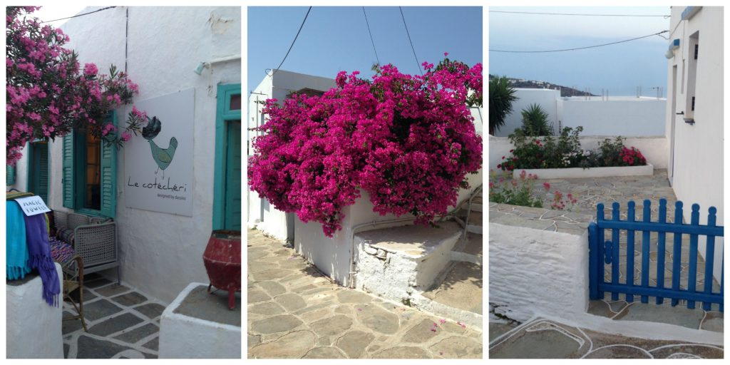 Wandering the streets of Sifnos island, Greece