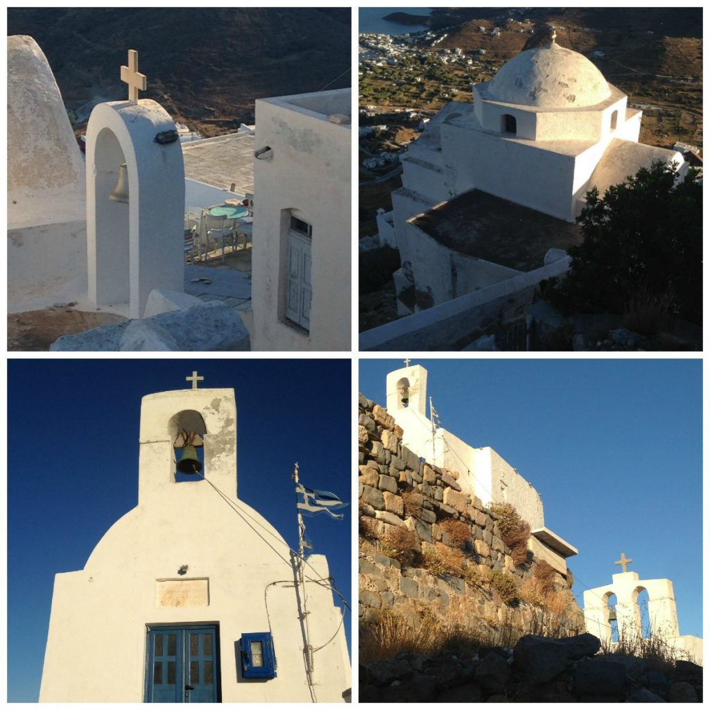 Churches of the Hora of Serifos