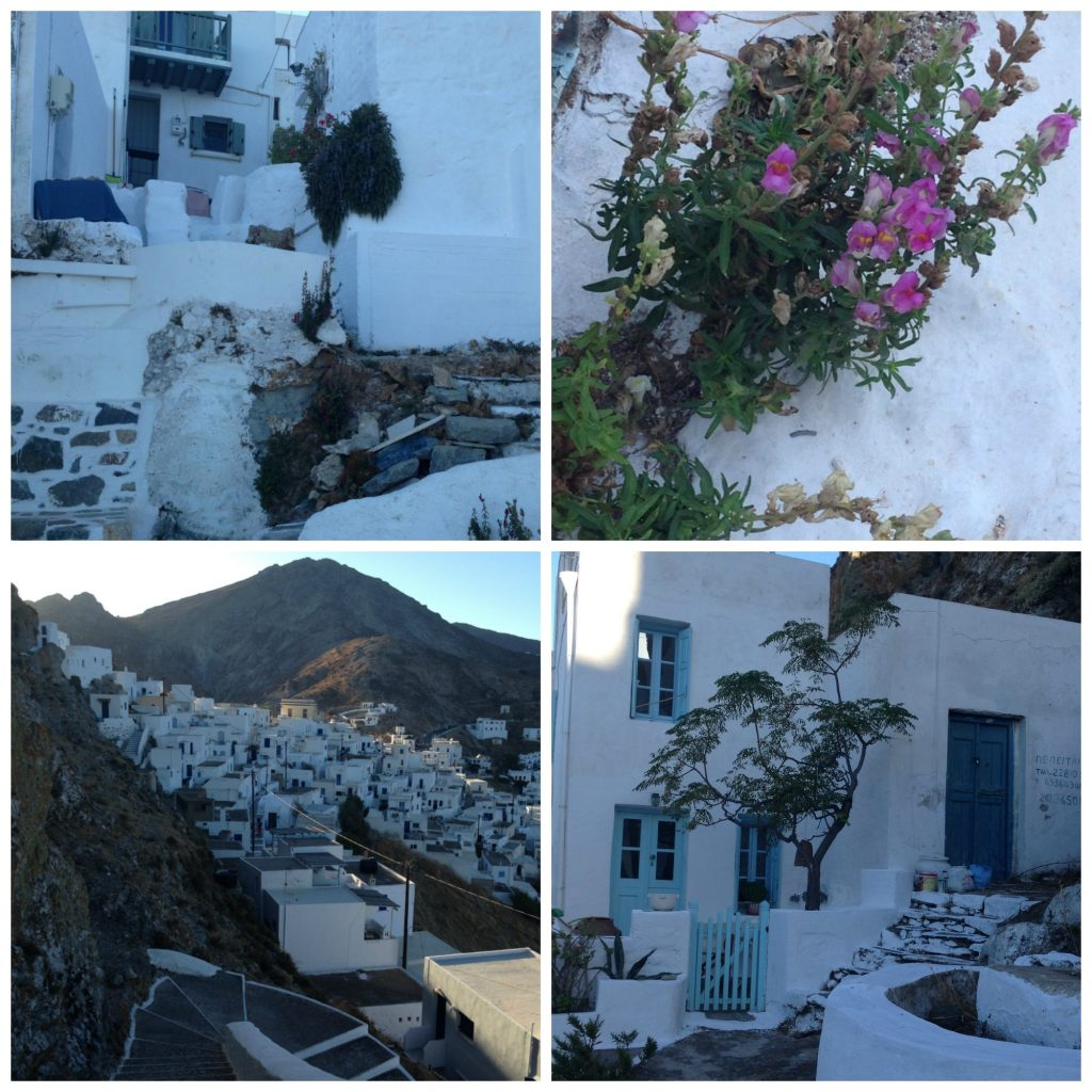 The Streets of the Hora of Serifos