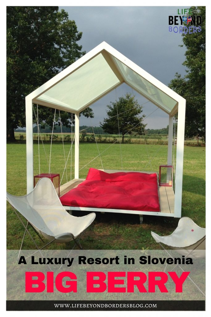 Have you been glamping? How about glamping in the central European country of Slovenia.  A luxury lifestyle resort - Big Berry - is the way to go. Great for couples and families. LifeBeyondBorders