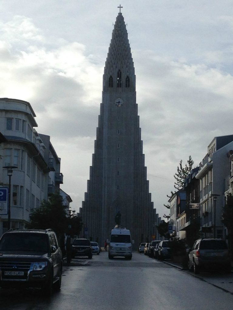 Lutheran church of Hallgrimskirkja in Rekjakavik, Iceland